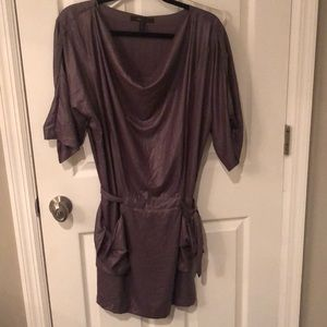 NWT BCBG dress misty purple color